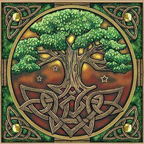 arbol del tarot celta