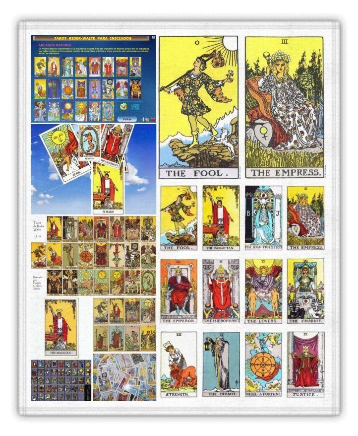El tarot rider waite y sus poderosas combinaciones - El espejo tarot gratis ...