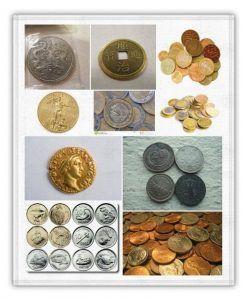 tipos de monedas en sueños