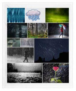 formas de llover en sueños