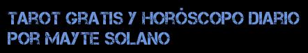 Tarot Gratis y Horóscopo Diario